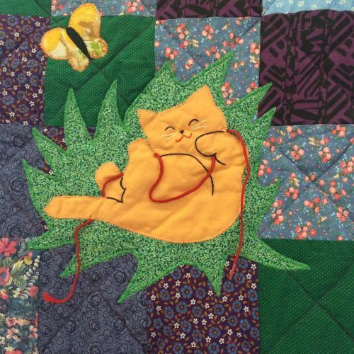 Beginner Quilt_detail