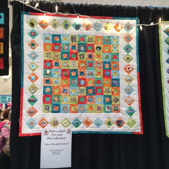 charm display quilt