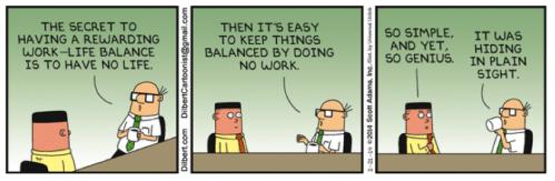 Dilbert work-life balance