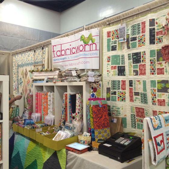 Fabricworm Booth