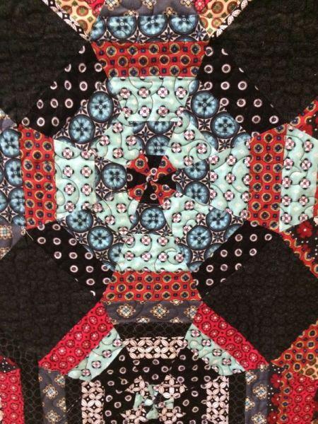 Kaleidoscope Quilt_detail