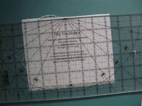 Making a Quilt Label 3