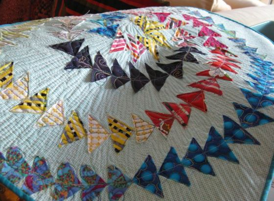 Olympic Geese Quilt_casual