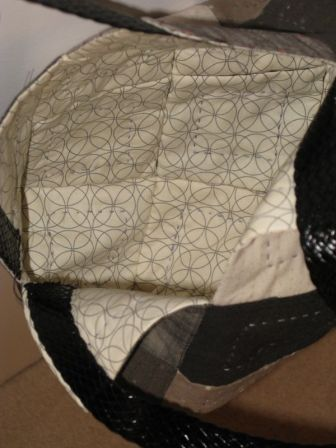Patchwork Bag interior