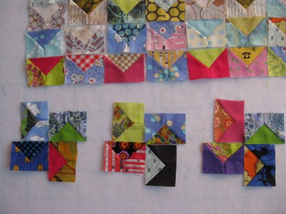 Pre-Quilt layout