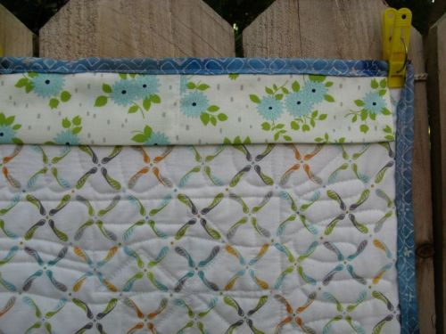 Tiny Envelopes Quilt sleeve