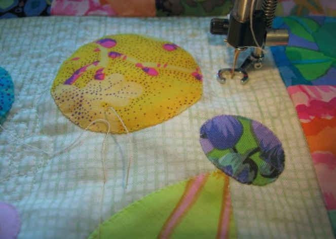 Quilting Lollypop Tree Quilt_1