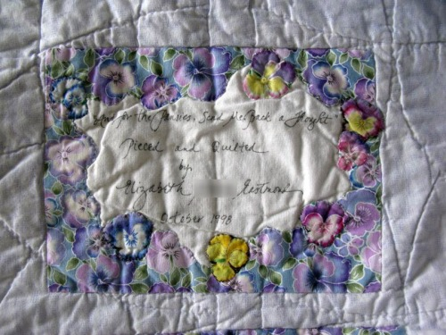 And For the Pansies Label