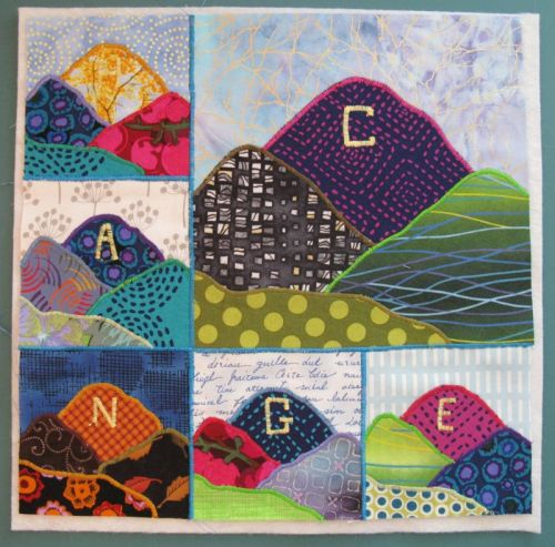 Assembling Changes Art Quilt