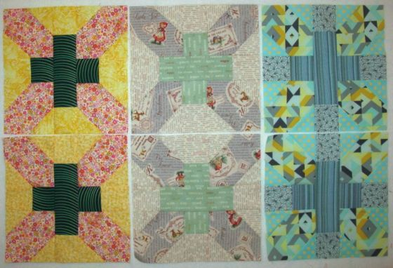 June Cross-X Quilt Blocks3