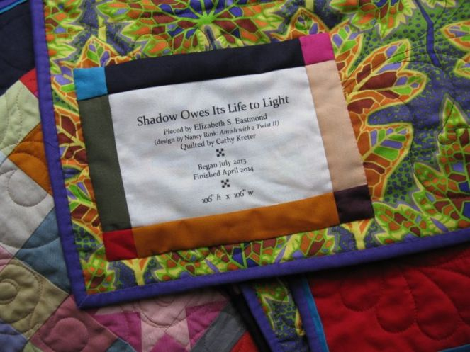 Shadow Light  Quilt Label2