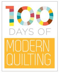 100 Days Modern Quilting