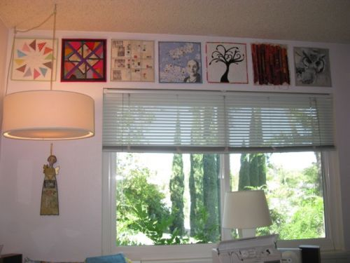 Art Quilts in a Row