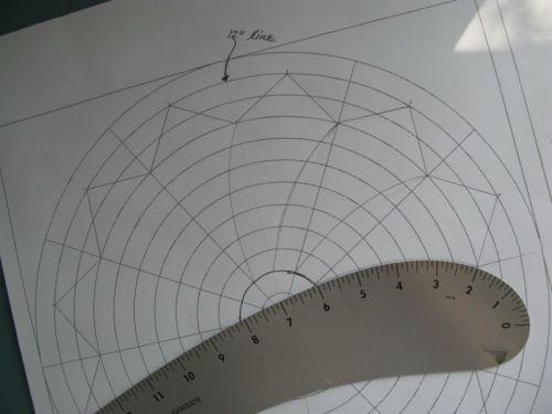Circle Quilt Block #1 drawing_1