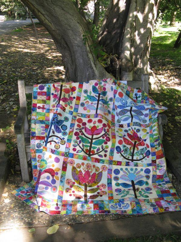 Elizabeth's Lollypop Tree Quilt_1