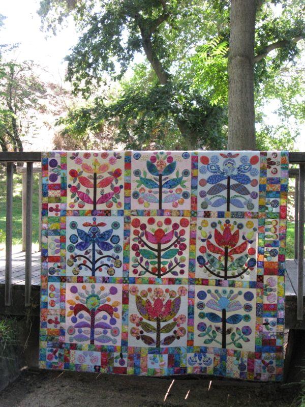 Elizabeth's Lollypop Tree Quilt_2