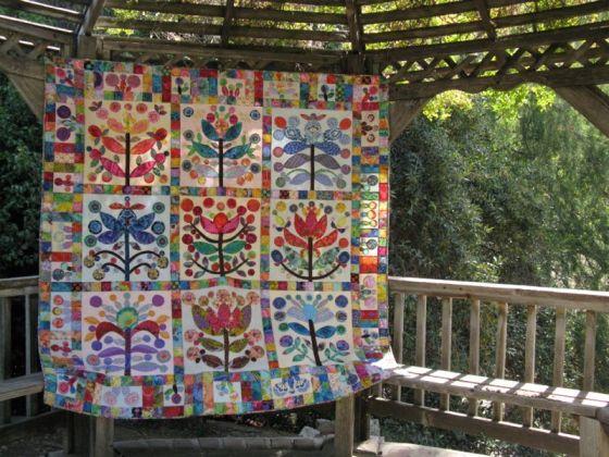 Elizabeth's Lollypop Tree Quilt_7