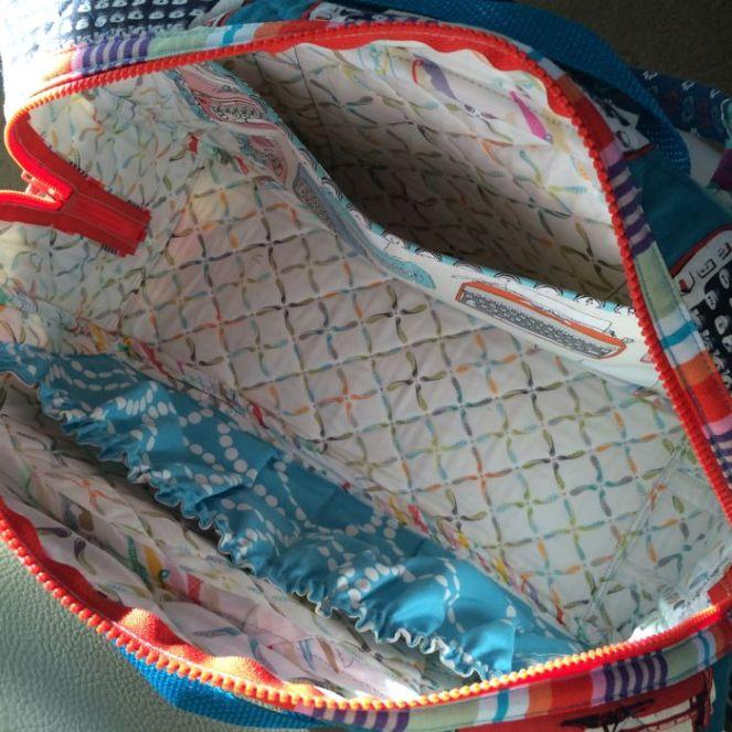 Inside Weekender Bag