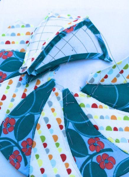 Stitching Circle Blocks