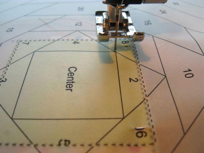 3_ Beginning of Stitching Line
