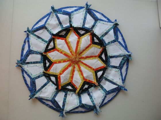 BAckside of Large Circles Block#3