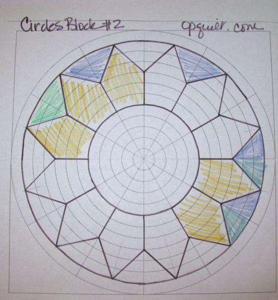 EPP2 Circles block #1