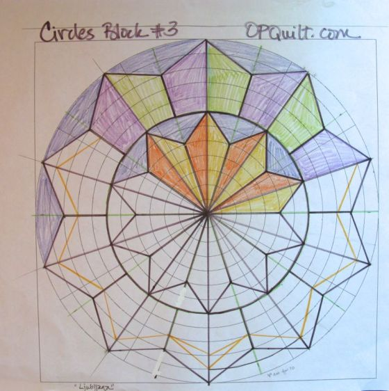 EPP3B Circles Block Drawing
