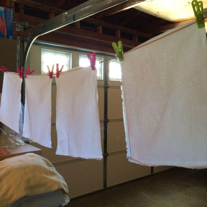 Prepared Fabric Drying