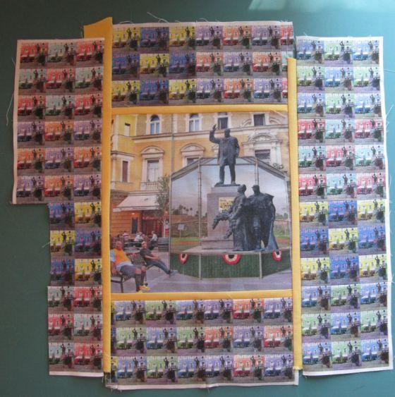 Sashing Printed Sheeets