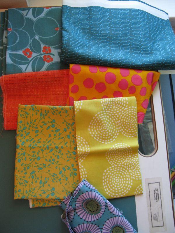 Circles Four Gathering Fabrics