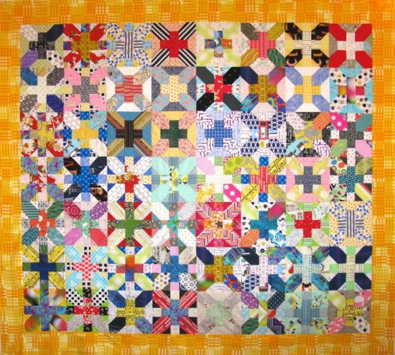 CrossX_final quilt top