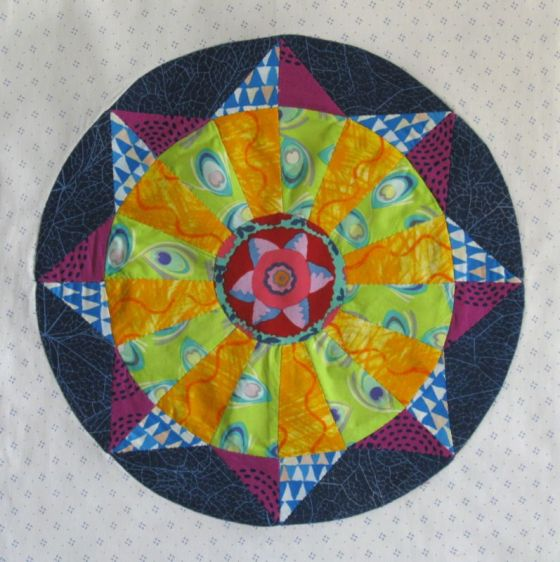 Circles Block 5 Epp Sew Along Occasionalpiece Quilt