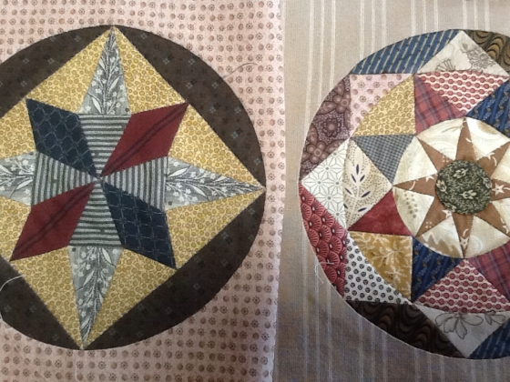 Missie Carpenter Circle Blocks