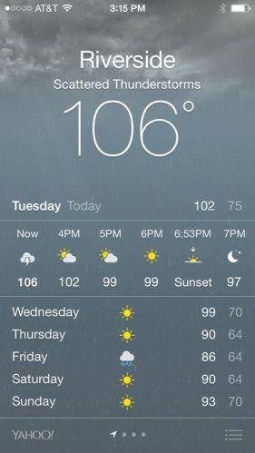 Weather 106