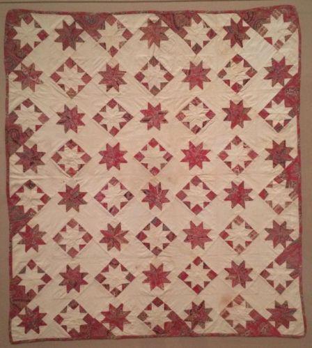 lemoyne star crib quilt