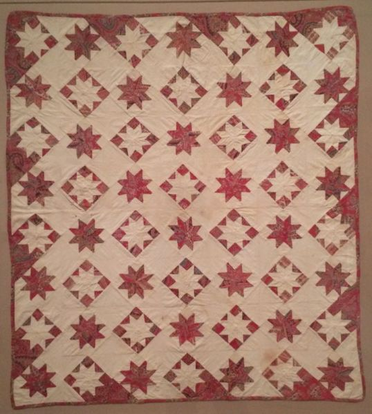 lemoyne star crib quilt