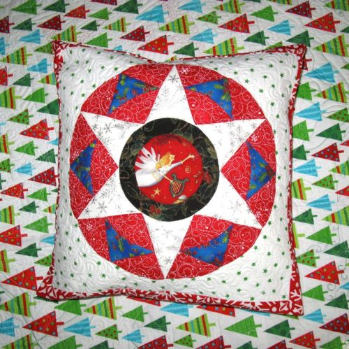 Christmas Star Pillow_front
