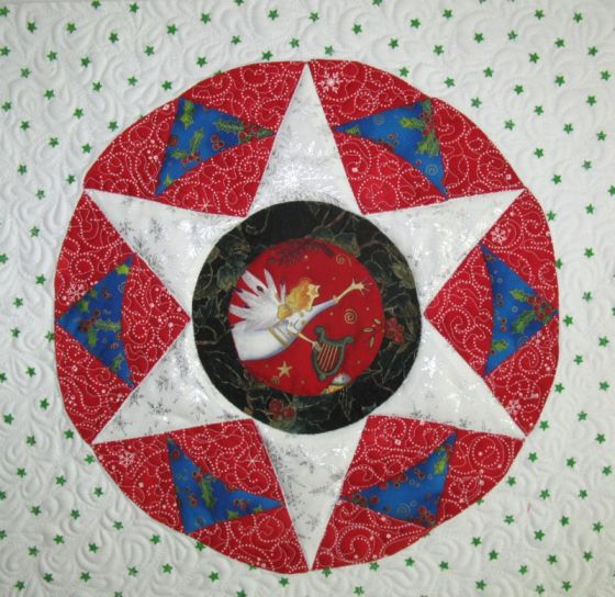 Christmas Star Pillow_front1