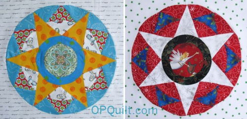 Circles Block #6 duo