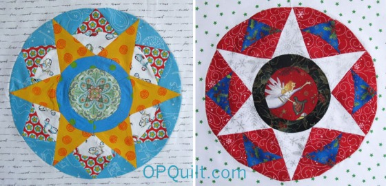 Circles Block #6 duo