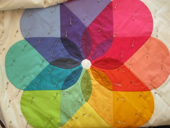 Colorwheel Quilt_petals1a