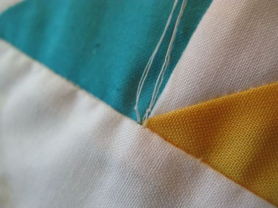 Making a quilty knot