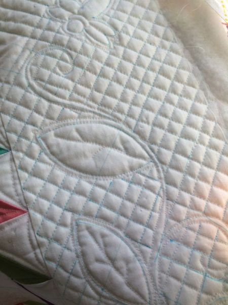quilting done outer border