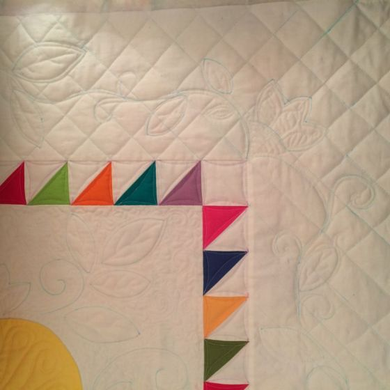 Quilting outer border