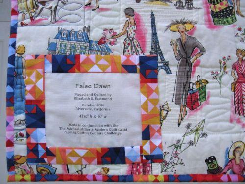 False Dawn_label
