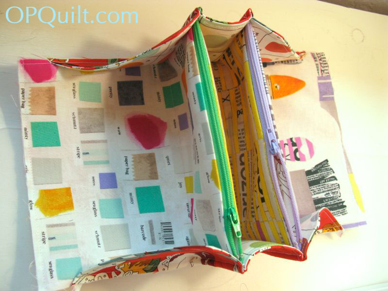 Mini Sew-Together Bag | OccasionalPiece--Quilt!
