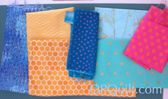 Circle Block 8_layout of fabric