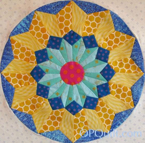 Circles Block 8_OPQuilt1