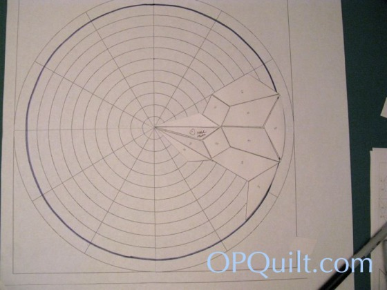 Circles Block 8_pattern fits onto circle
