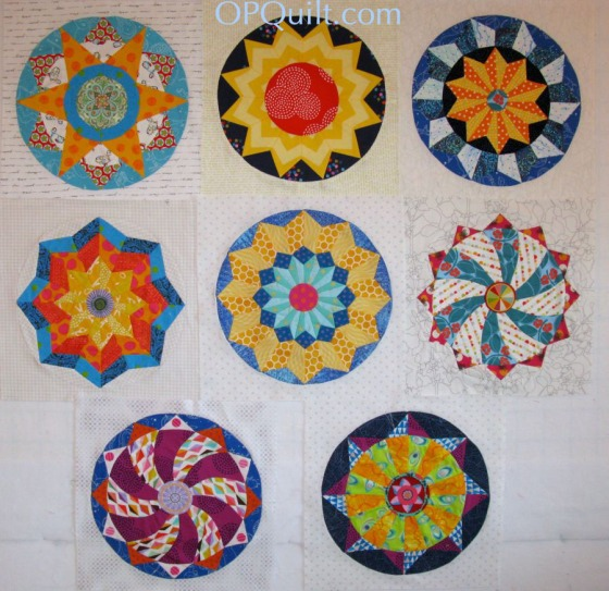 EPP 8 Circle Blocks_OPQuilt